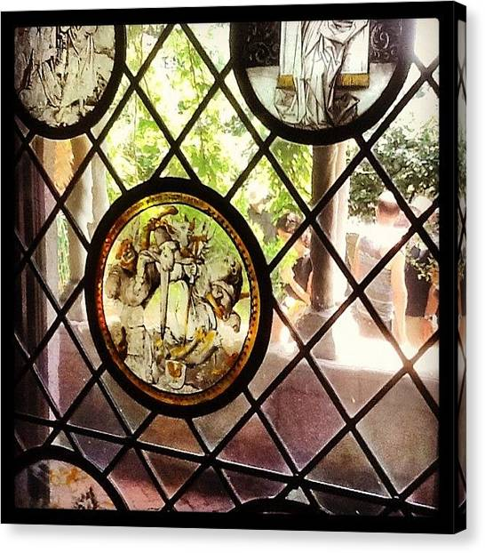 Medieval Art Canvas Print - Nyc, Ny - Inside Out by Trey Kendrick