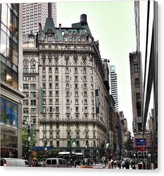 Nyc Radisson Hotel Canvas Print