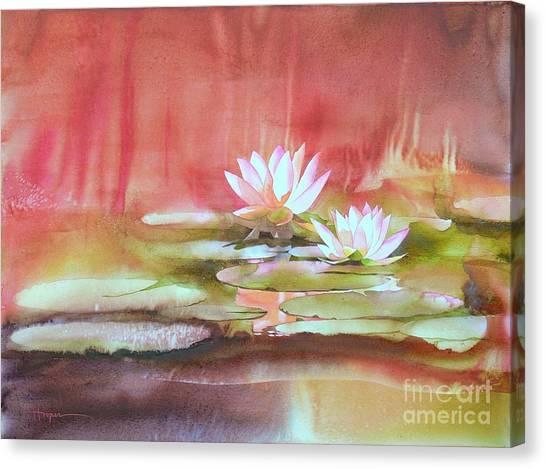 Waterlily Canvas Print - Nympheas by Robert Hooper