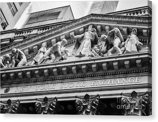 Nyse Canvas Print
