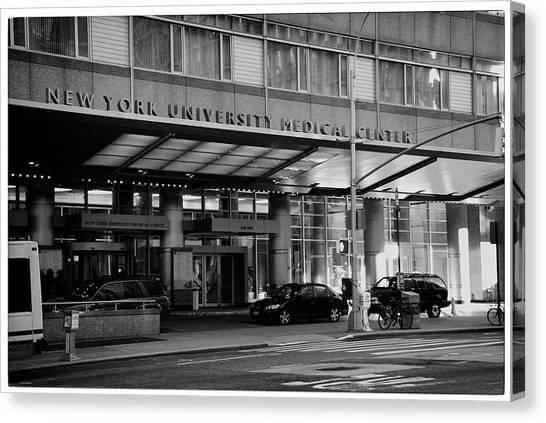 New York University Canvas Print - Nyu Medical Center by Georgia Fowler