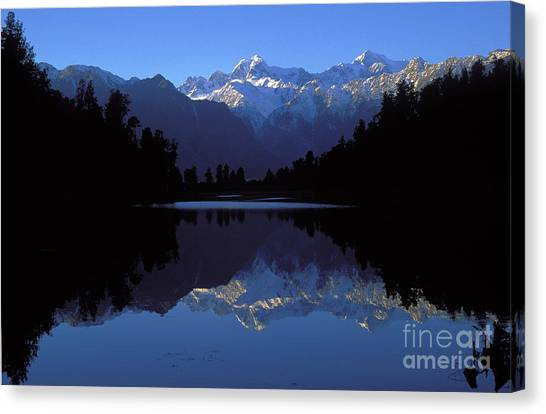 Fox Glacier Canvas Print - New Zealand Alps by Steven Ralser