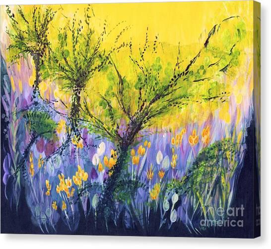 O Trees Canvas Print