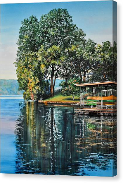Oak Point Canvas Print