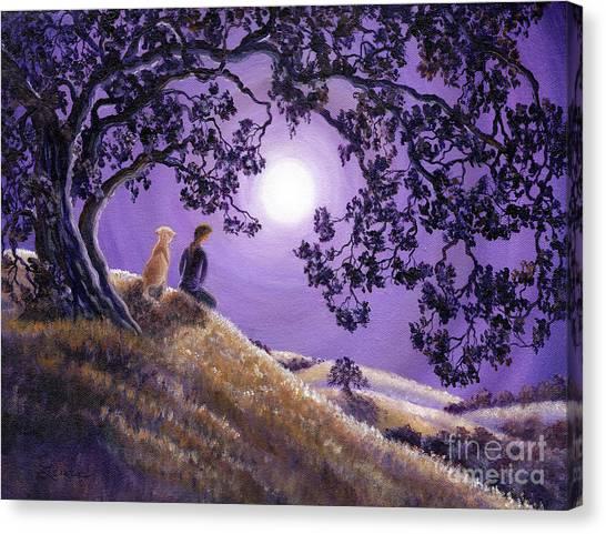 Oak Tree Meditation Canvas Print