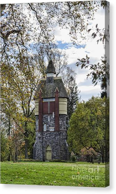 Oakbourne Tower Canvas Print