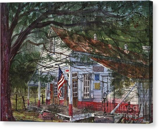 Oakland Plantation Store Canvas Print