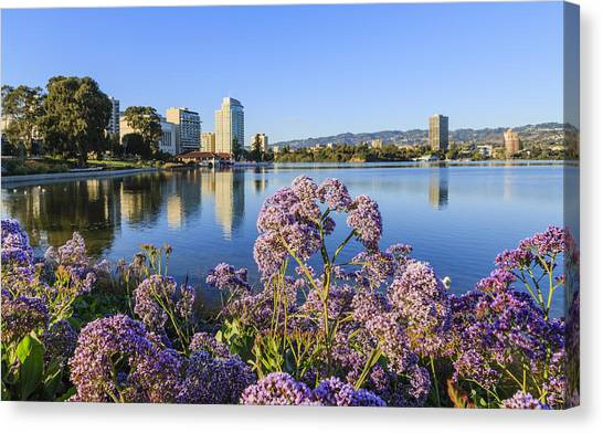 Oakland San Francisco Canvas Print