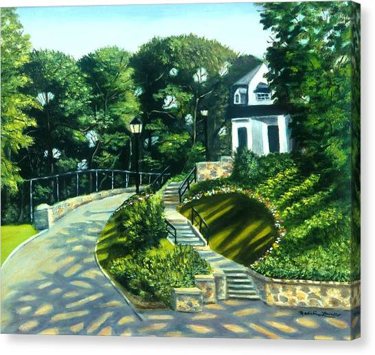 Oakridge In Forest Park Canvas Print