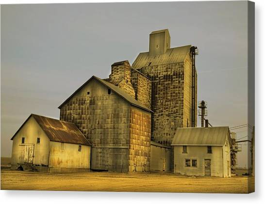 Oakwood Elevator Canvas Print