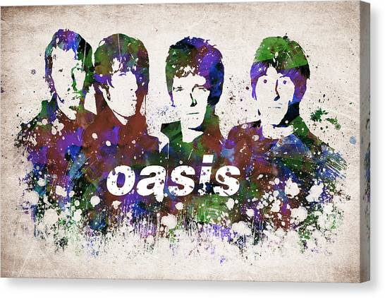 Morning Glory Canvas Print - Oasis Portrait by Aged Pixel