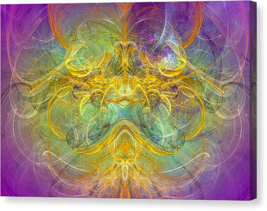Obeisance To Nature - Spiritual Abstract Art Canvas Print