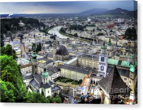 Ober Innsbruck Canvas Print