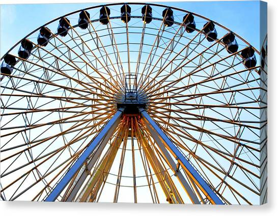 Observation Wheel Canvas Print