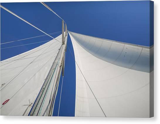 Obsession Sails 1 Canvas Print