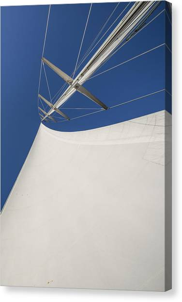 Obsession Sails 4 Canvas Print