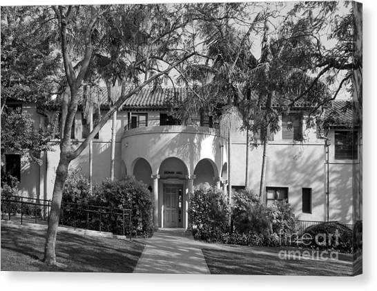 Liberal Canvas Print - Occidental College Erdman Hall by University Icons