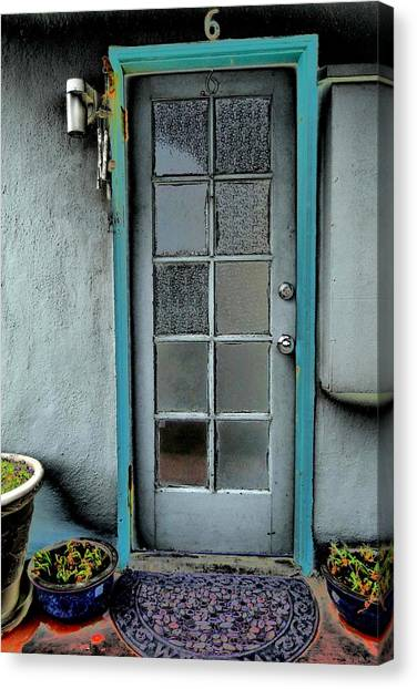 Occupant Canvas Print