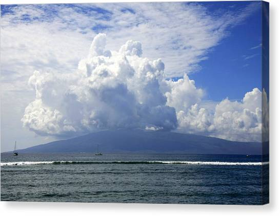 Ocean And Clouds Canvas Print