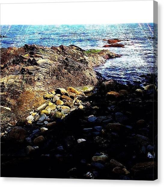 Rhode Island Canvas Print - Ocean by Ashley Morton