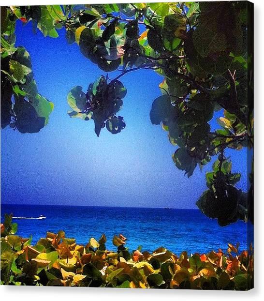 Jupiter Canvas Print - #ocean #beach #jupiter #love #paradise by Eddie Vanderwerff