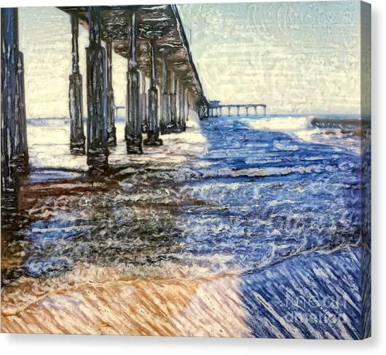 Ocean Beach Pier Canvas Print