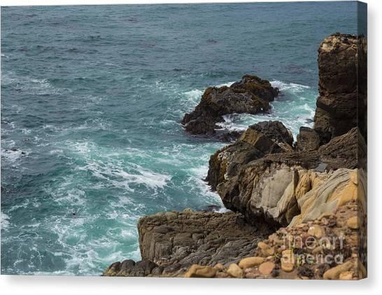 Ocean Below Canvas Print