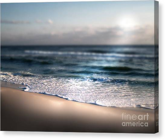 Ocean Blanket Canvas Print by Jeffery Fagan