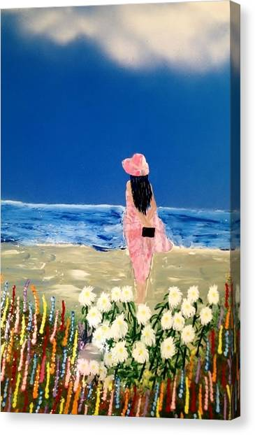 Canvas Print - Ocean Breeze by Michael Rucker