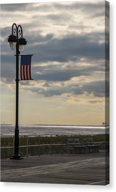 Ocean City New Jersey Boardwalk Canvas Print
