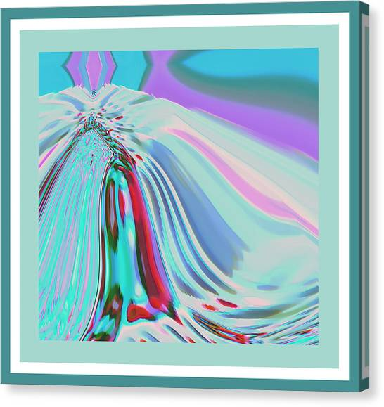 Ocean Deco - Ticker Symbol Jamn 7/5/2011 To 8/1/2011 Canvas Print