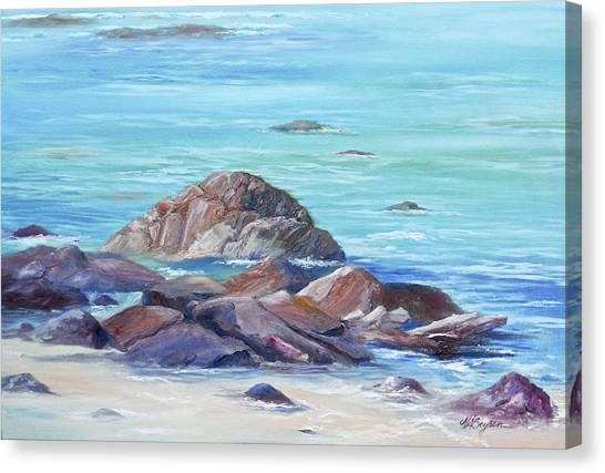 Ocean Emotion #3 Canvas Print