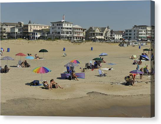 Ocean Grove Beach Canvas Print