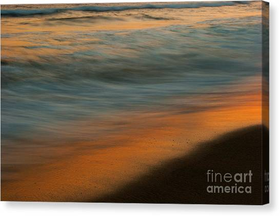 Wave Impressions  Canvas Print