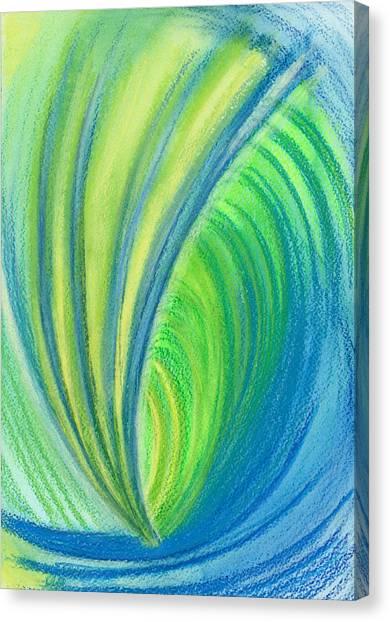 Ocean Of Dark And Light Canvas Print
