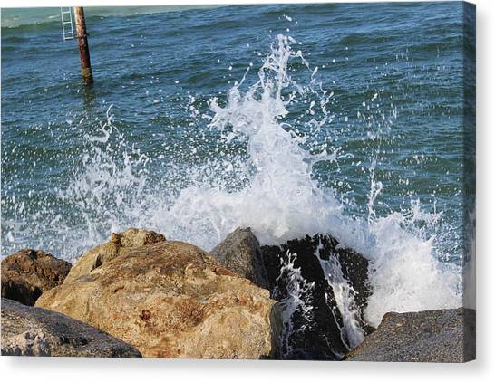 Ocean Spray Canvas Print