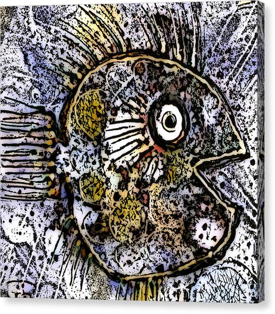 Ocean Sunfish Canvas Print
