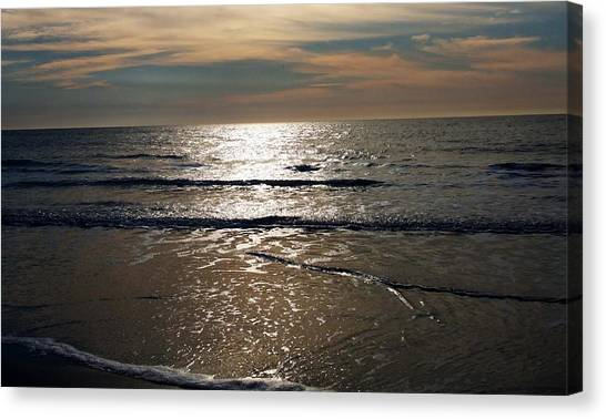 South Carolina Canvas Print - Ocean Sunrise by Meagan Johnson