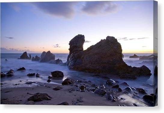 Ocean T Rex Canvas Print