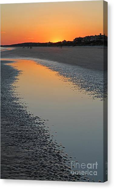 Ocean Tidal Pool Canvas Print