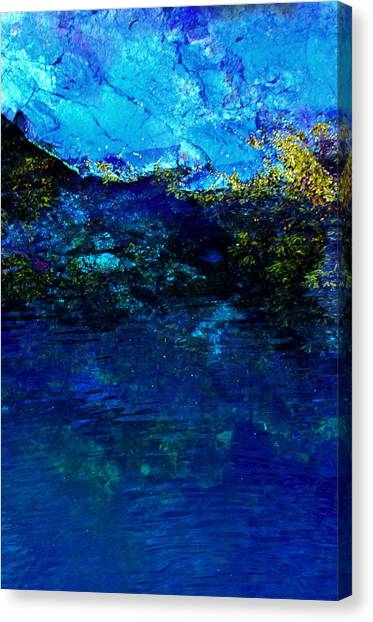 Oceans Edge Canvas Print