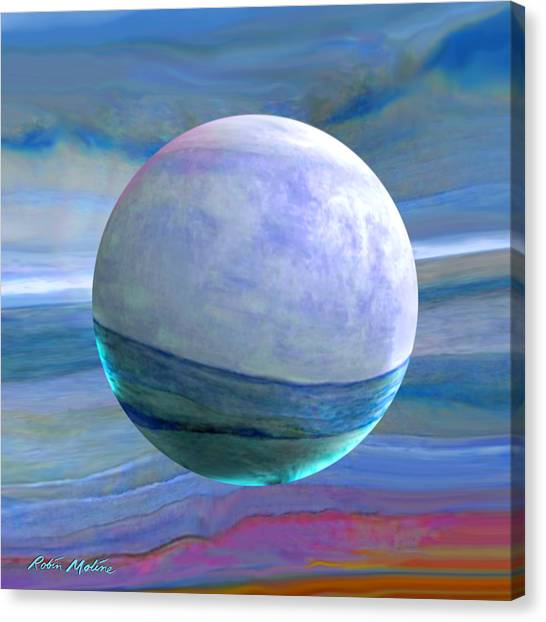 Robin Canvas Print - Oceans by Robin Moline