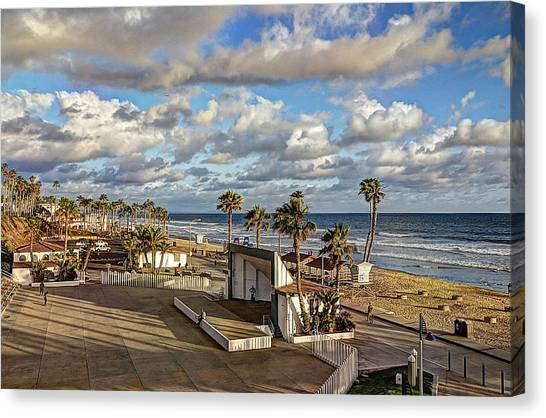 Canvas Print - Oceanside Amphitheater by Ann Patterson