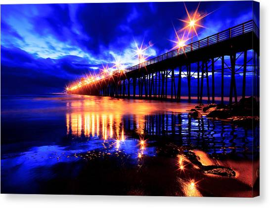 Oceanside Pier 4 Canvas Print
