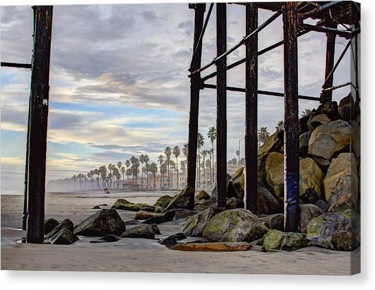 Canvas Print - Oceanside Pier by Ann Patterson