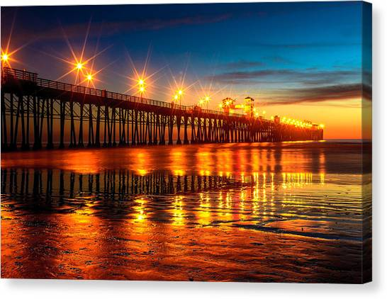 Oceanside Pier 2 Canvas Print