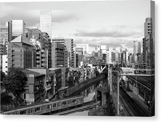 Ochanomizu Canvas Print by Photograph By Clinton Watkins, Japan