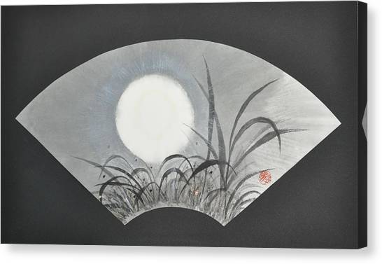 October Moonviewing Canvas Print