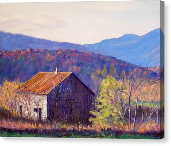 October Morning Canvas Print