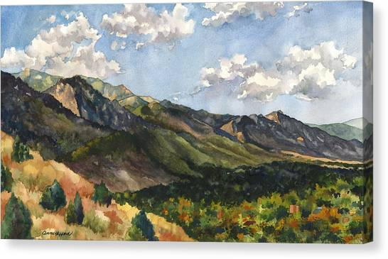 Colorado Canvas Print - October Shadows by Anne Gifford